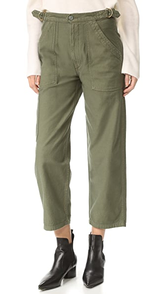 Citizens of Humanity Kendall Surplus Wide Pants - Sergeant Green