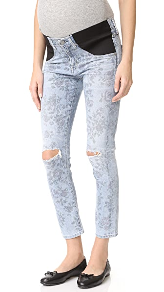 Citizens of Humanity Maternity Principle Girlfriend Jeans - Acid Rose