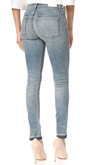 Citizens of Humanity Rocket Jeans with Split Hem