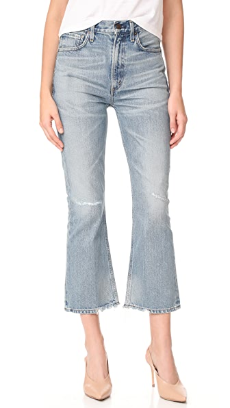 Citizens of Humanity Estella High Rise Ankle Fray Jeans - Freebird