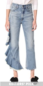 Estella Side Ruffle Jeans Citizens of Humanity