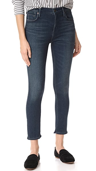 Citizens of Humanity Sculpt Rocket Crop Jeans - Haze
