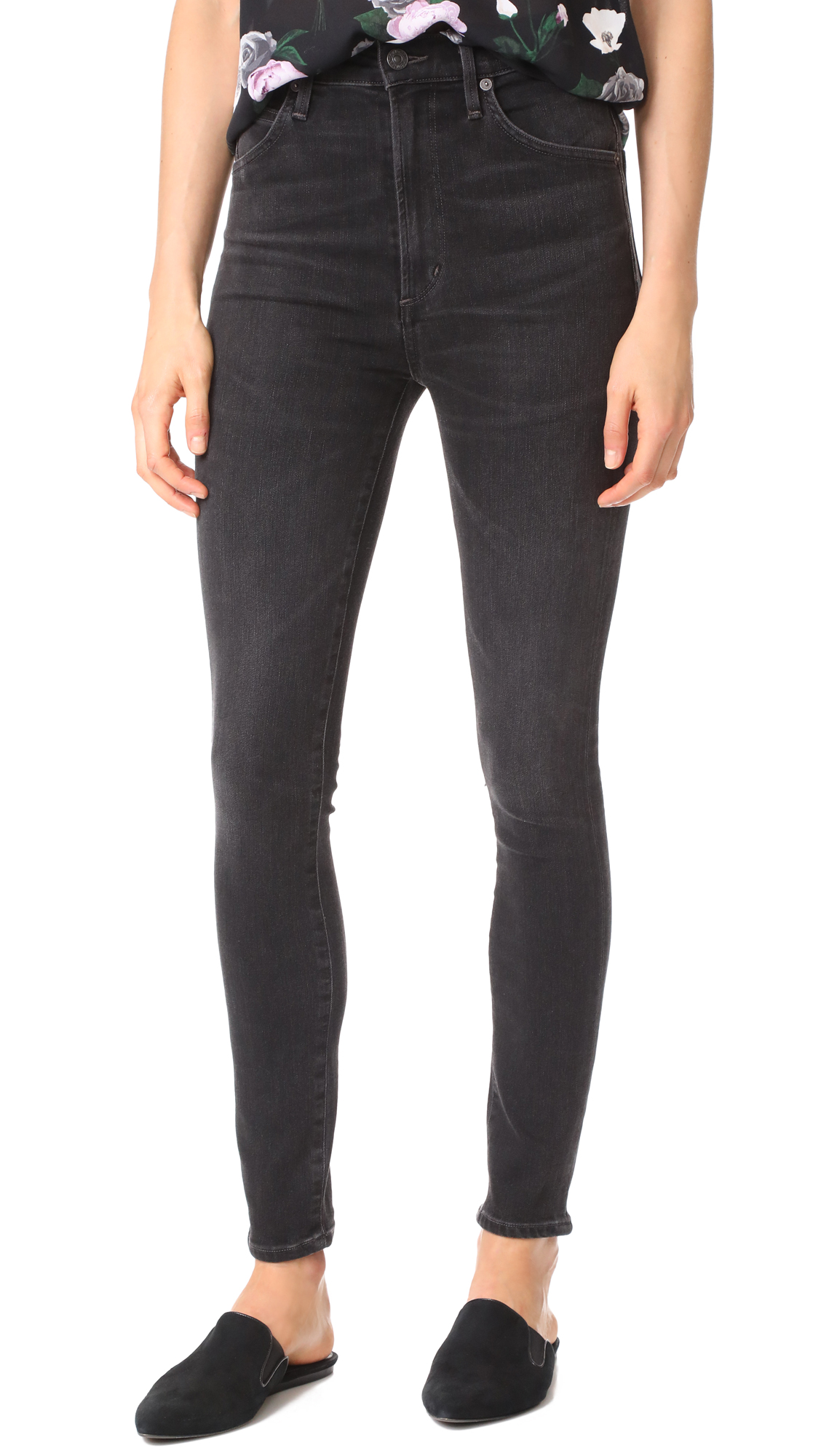 Citizens of Humanity Chrissy High Rise Skinny Jeans
