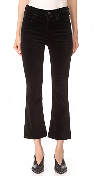 Citizens of Humanity Velvet Drew Crop Jeans at Shopbop