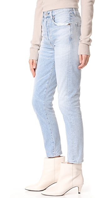 Citizens of Humanity Liya High Rise Classic Fit Crop Jeans