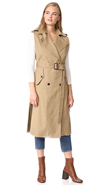 Citizens of Humanity Sleeveless Trench - Beige