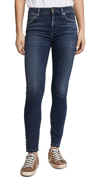Rocket Split Hem Jeans