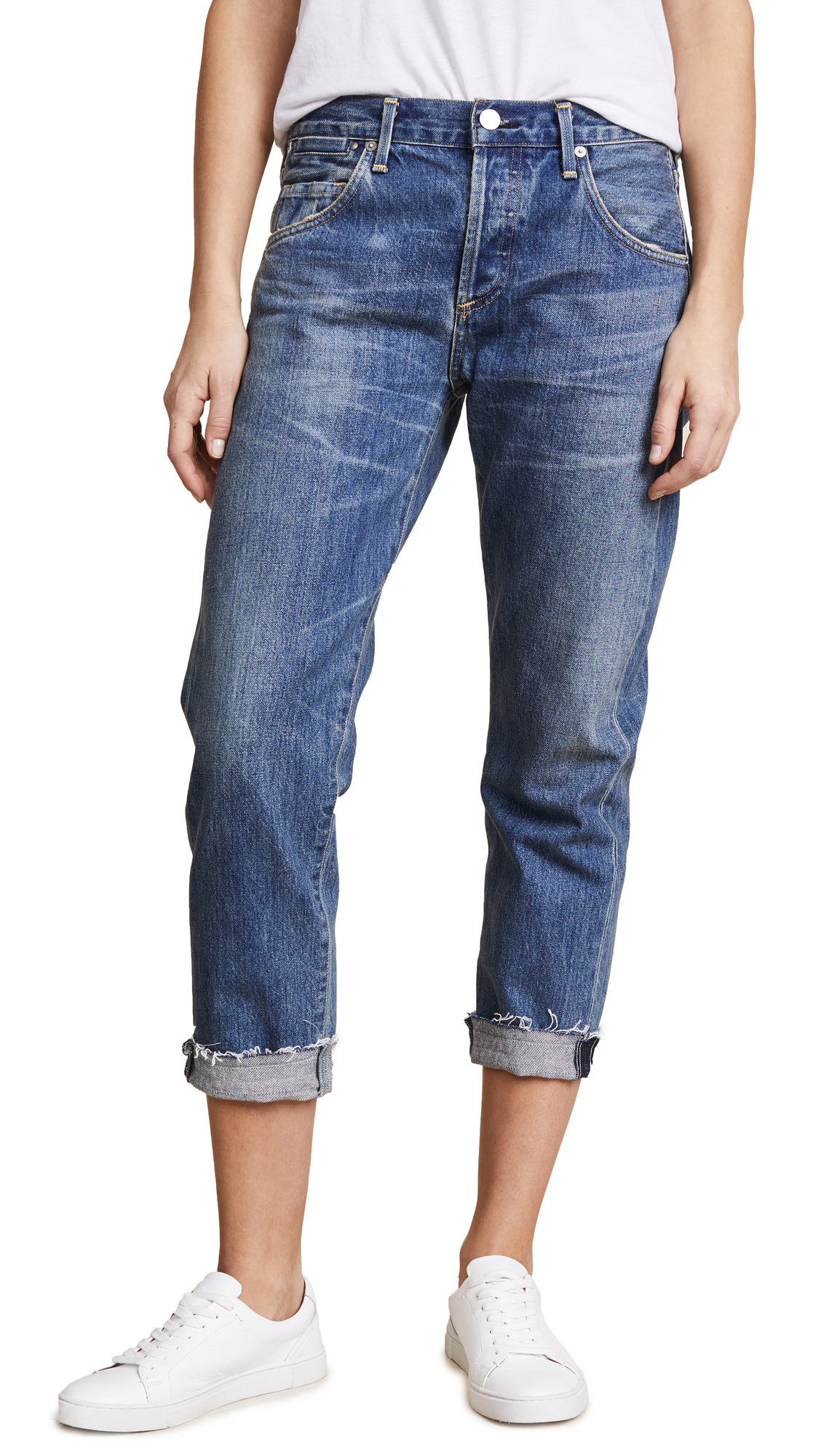 Citizens of Humanity Emerson Cuff Jeans In Somerset
