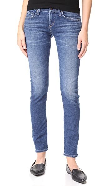 Citizens of Humanity Racer Low Rise Skinny Jeans - Voodoo