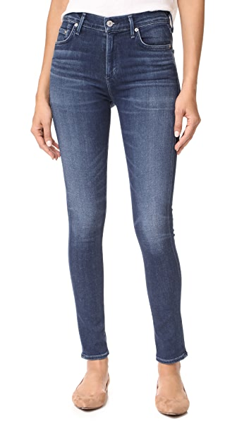 Citizens of Humanity Sculpt Rocket High Rise Skinny Jeans - Waverly