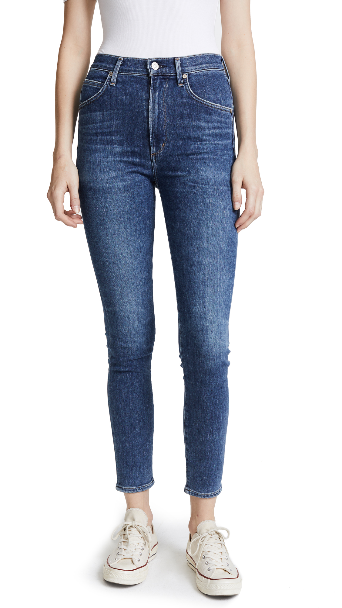 Citizens of Humanity Chrissy High Rise Jeans - Hotline