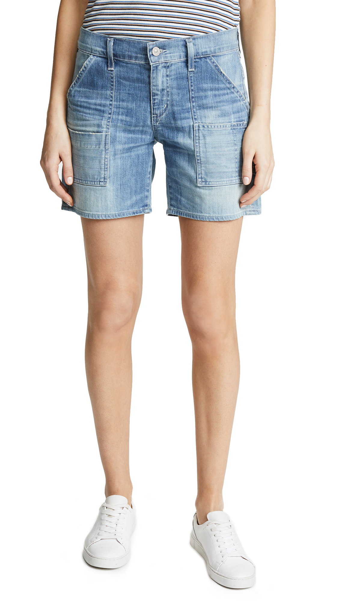 Citizens of Humanity Leah Shorts In Mercury