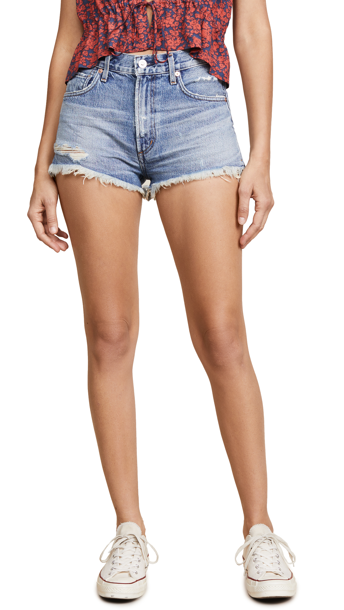 Citizens of Humanity Danielle Shorts In Mandrake