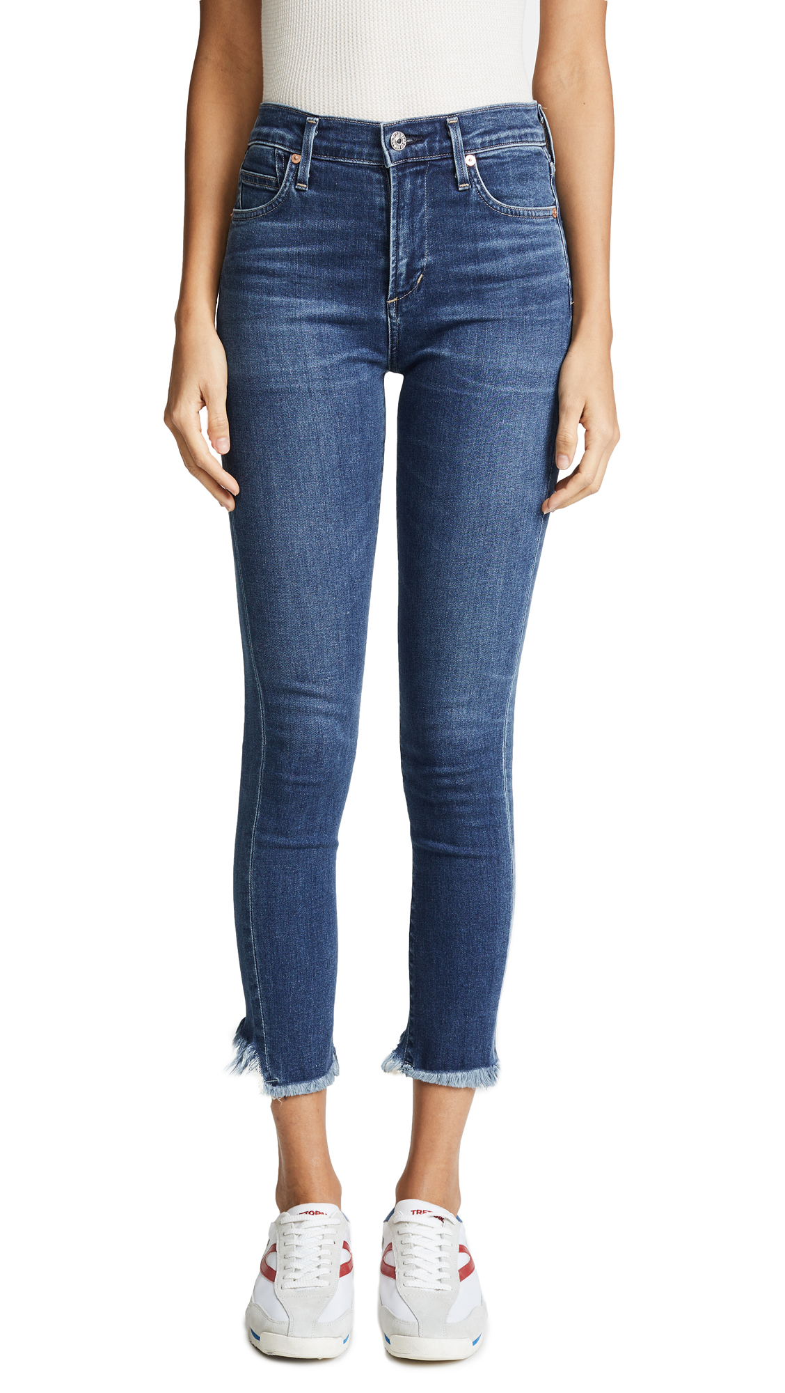 Citizens of Humanity Rocket Crop Skinny Jeans In Frequency