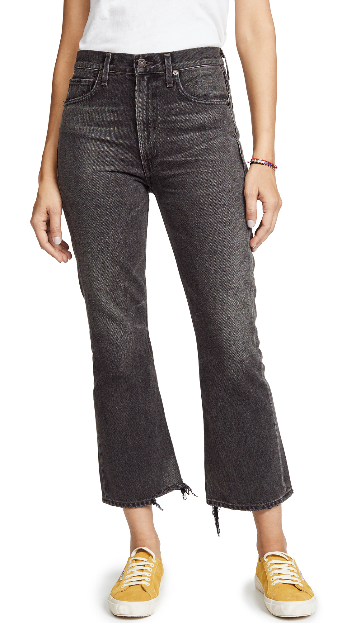 Citizens of Humanity Estella High Rise Ankle Flare Jeans