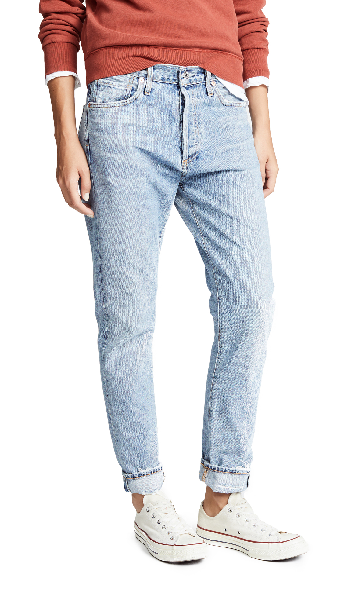 Citizens of Humanity Corey Slouchy Slim Jeans - Archive