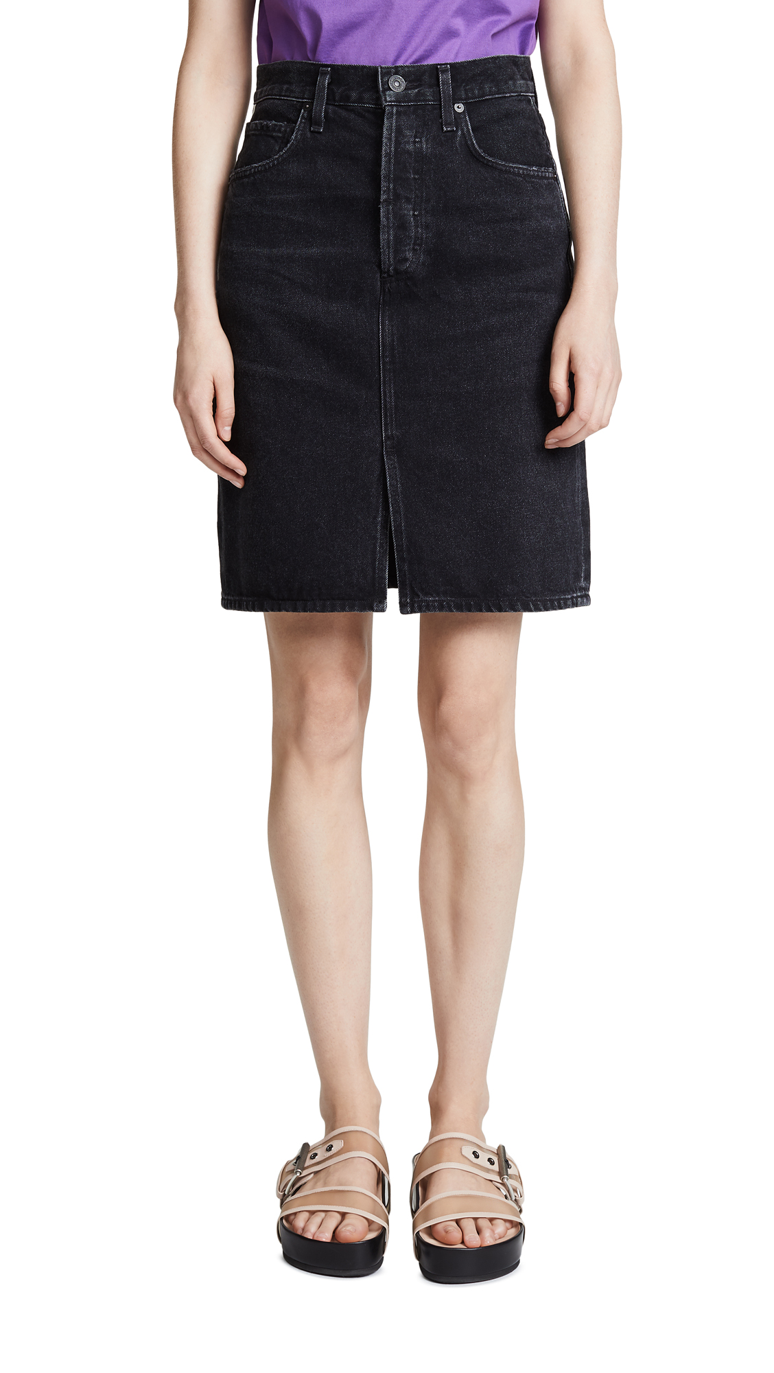 Citizens of Humanity Paloma Skirt In Shale
