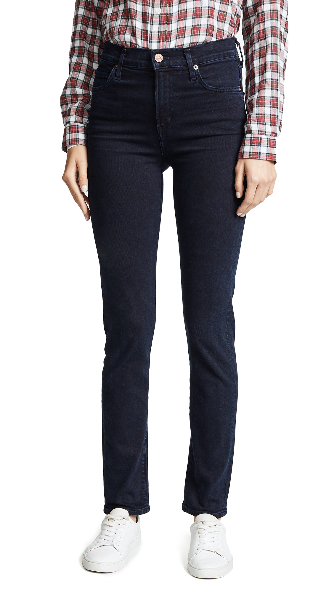 Citizens of Humanity Harlow High Rise Slim Jeans In Inkwell