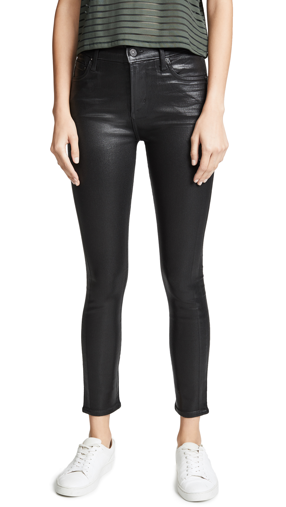Buy Citizens of Humanity online - photo of Citizens of Humanity Rocket Leatherette High Rise Skinny Jeans
