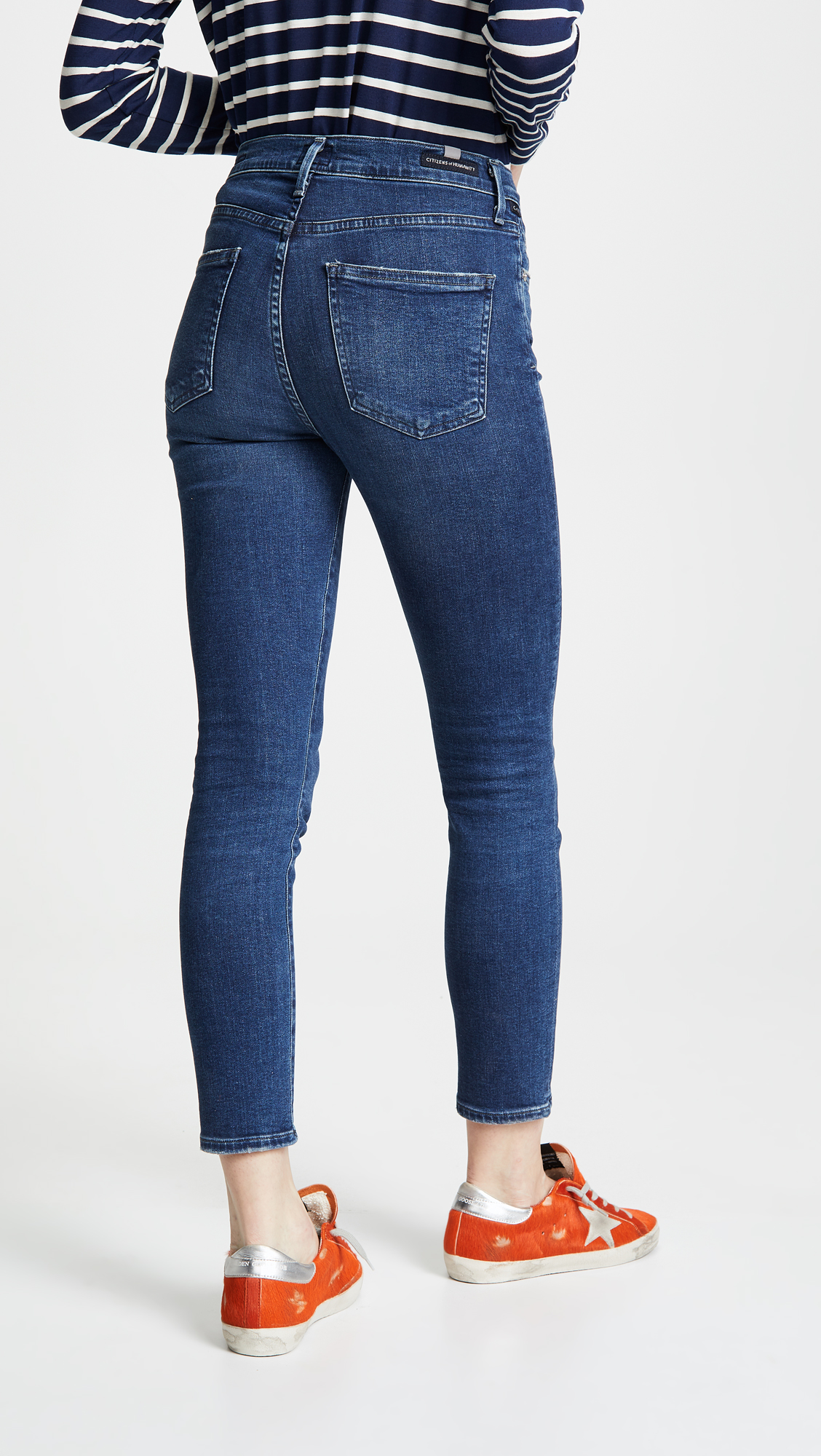 0d33c35fdd5e0 Citizens of Humanity Rocket Crop High Rise Skinny Jeans