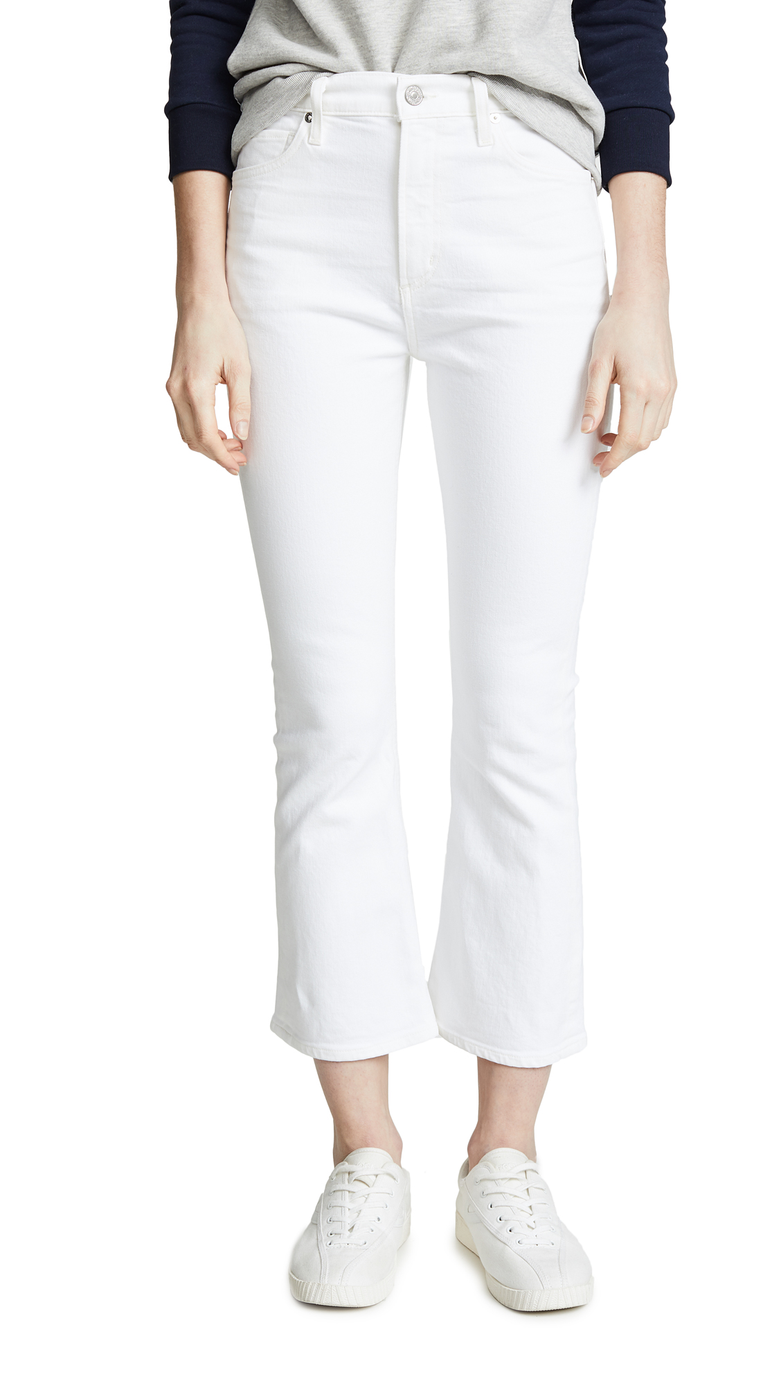Citizens of Humanity Demy Cropped Flare Jeans - Unveil