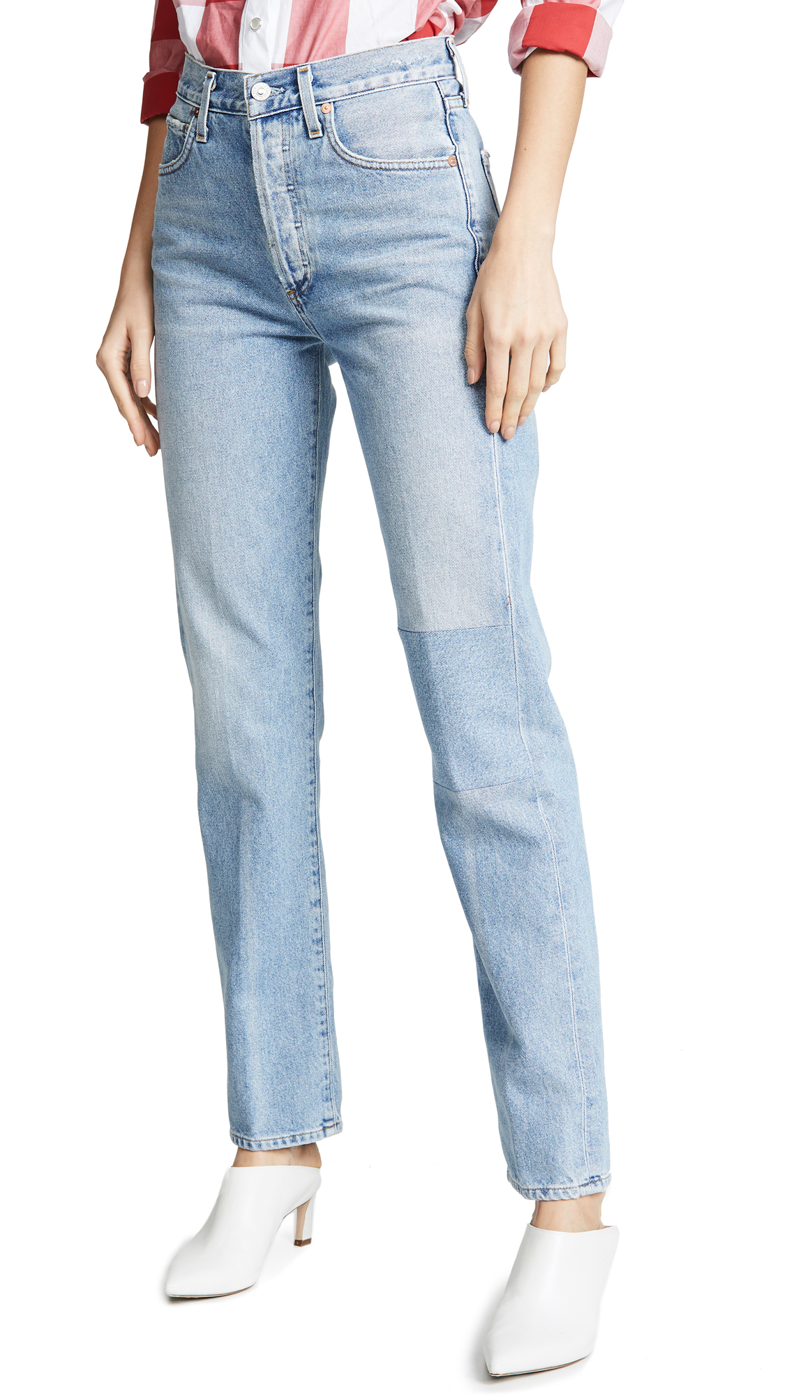 Citizens of Humanity Campbell High Rise Relaxed Straight Jeans - Render
