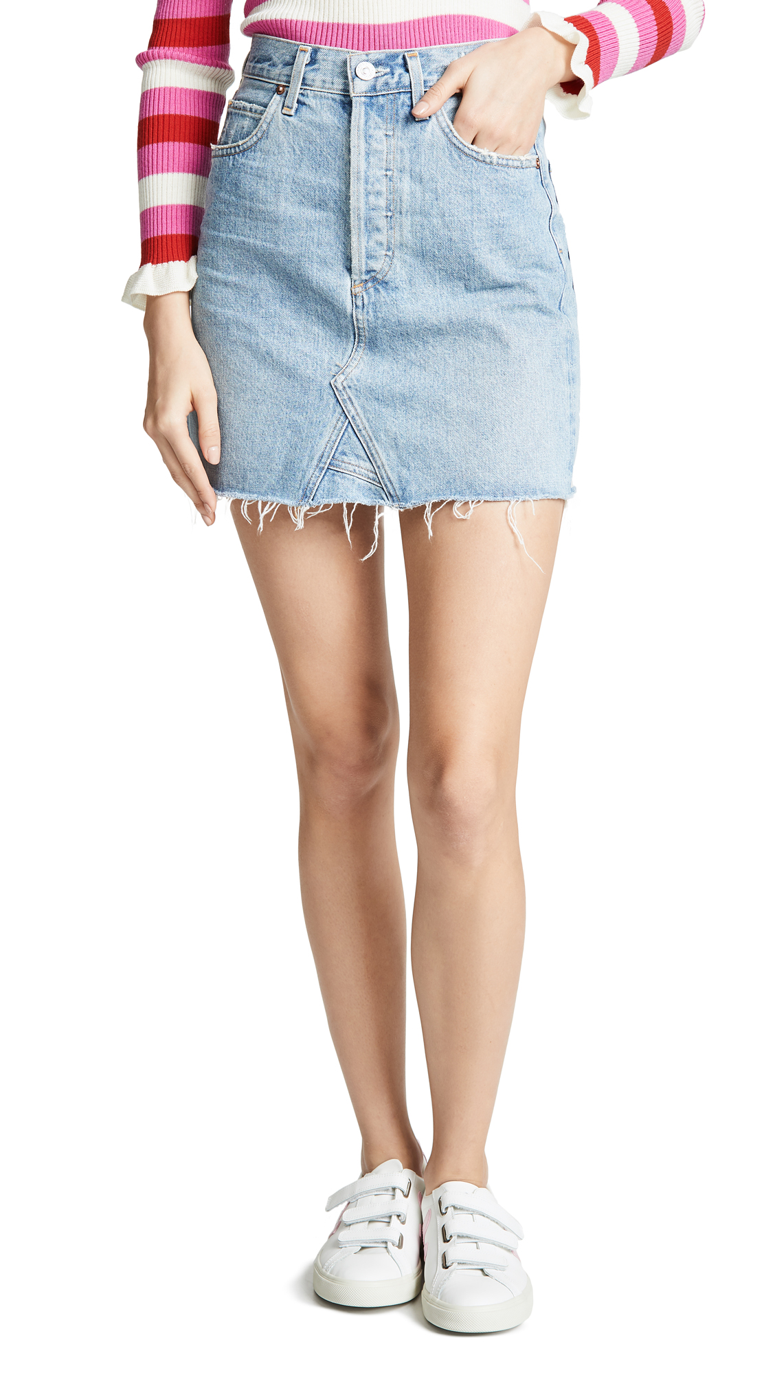 Citizens of Humanity Astrid Mini Skirt - Archive