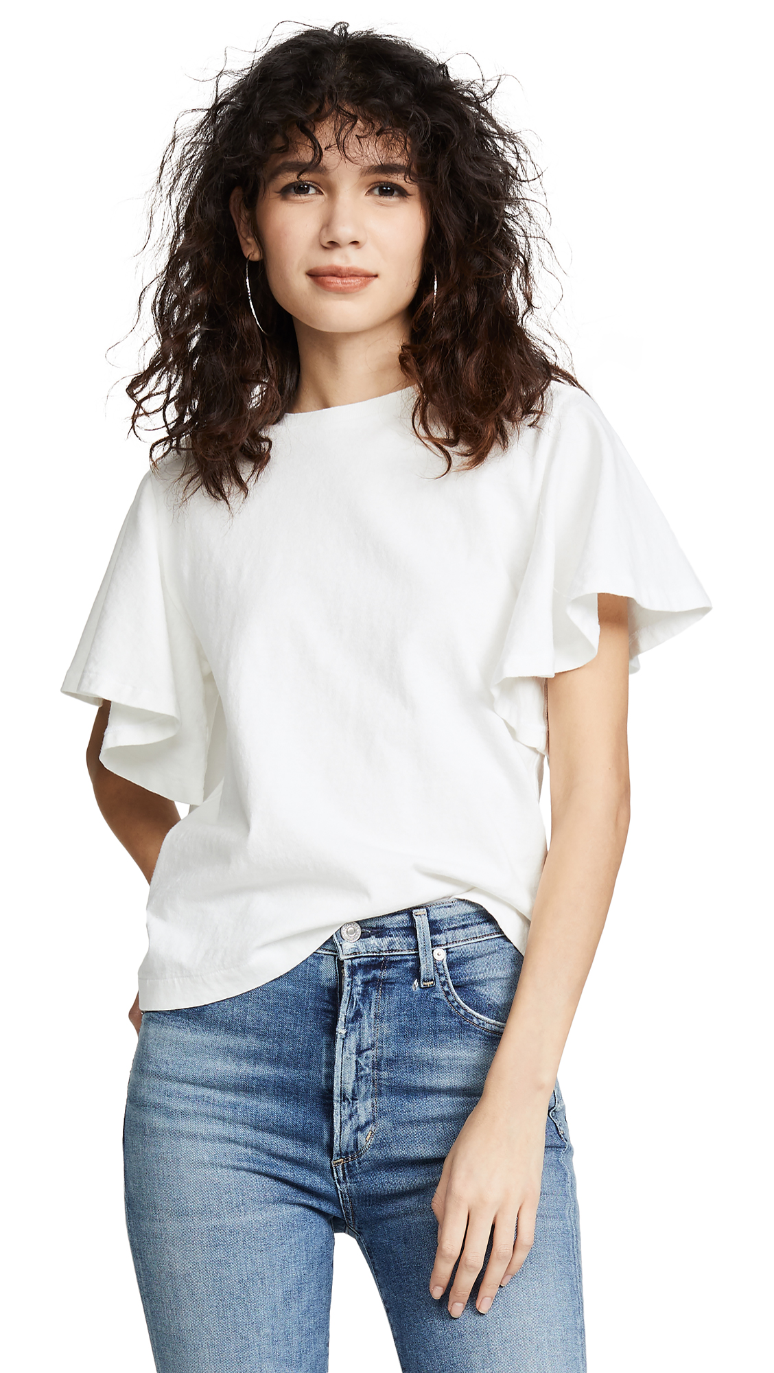Citizens of Humanity Anise Tee - Off White