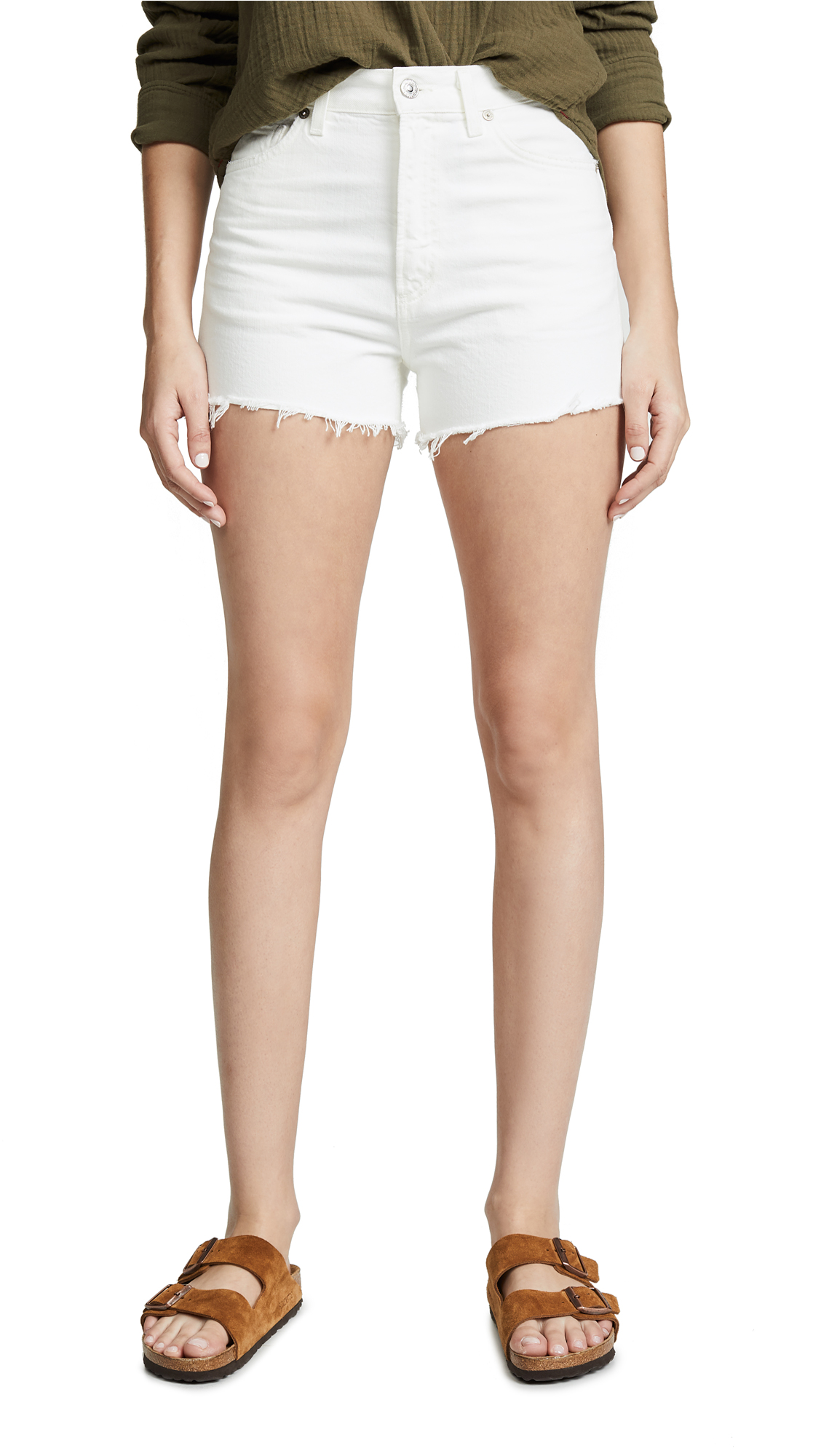 Citizens of Humanity Kristen High Rise Shorts - Fresco