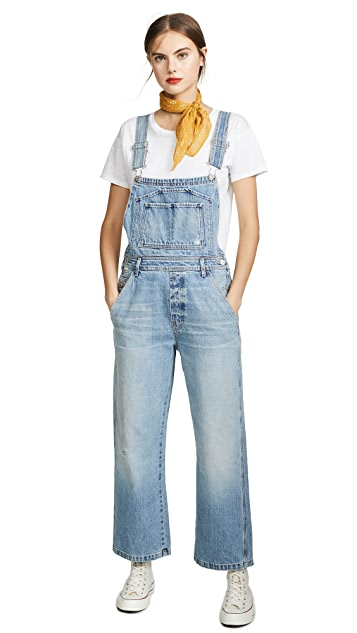 Citizens of Humanity Christie Wide Leg Overalls