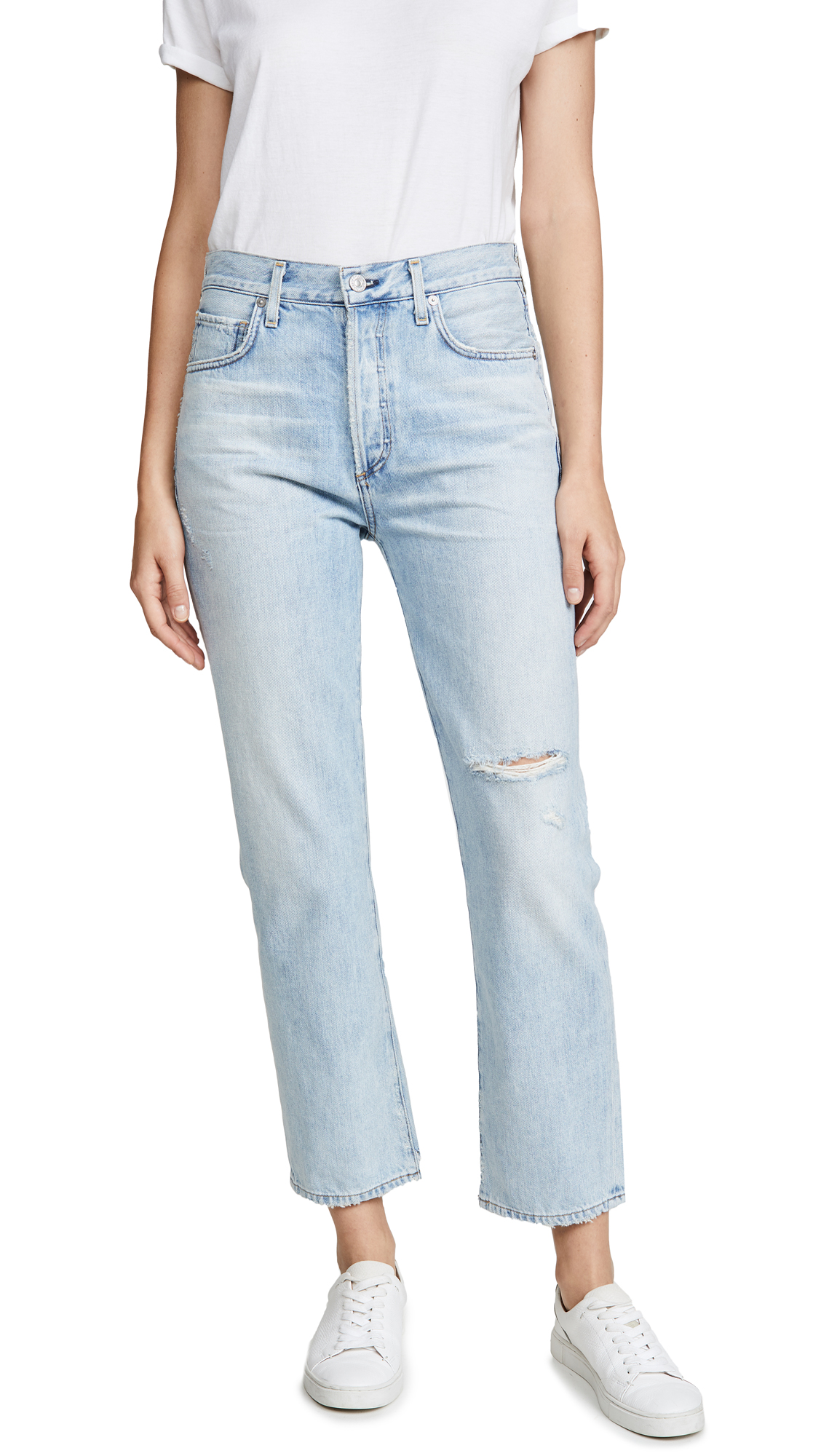 Buy Citizens of Humanity online - photo of Citizens of Humanity Mckenzie Curved Straight Jeans