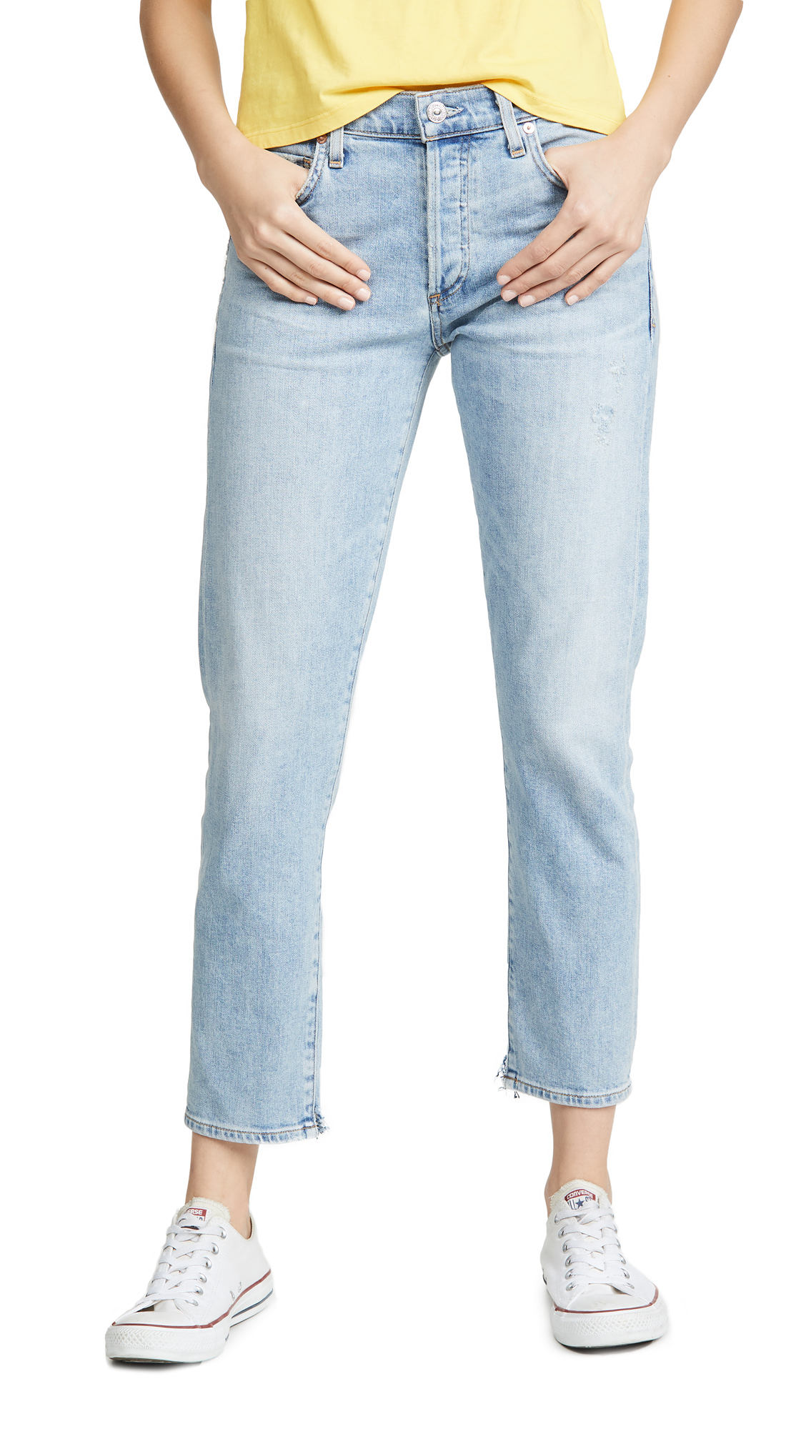 Buy Citizens of Humanity online - photo of Citizens of Humanity Emerson Slim Fit Boyfriend Jeans