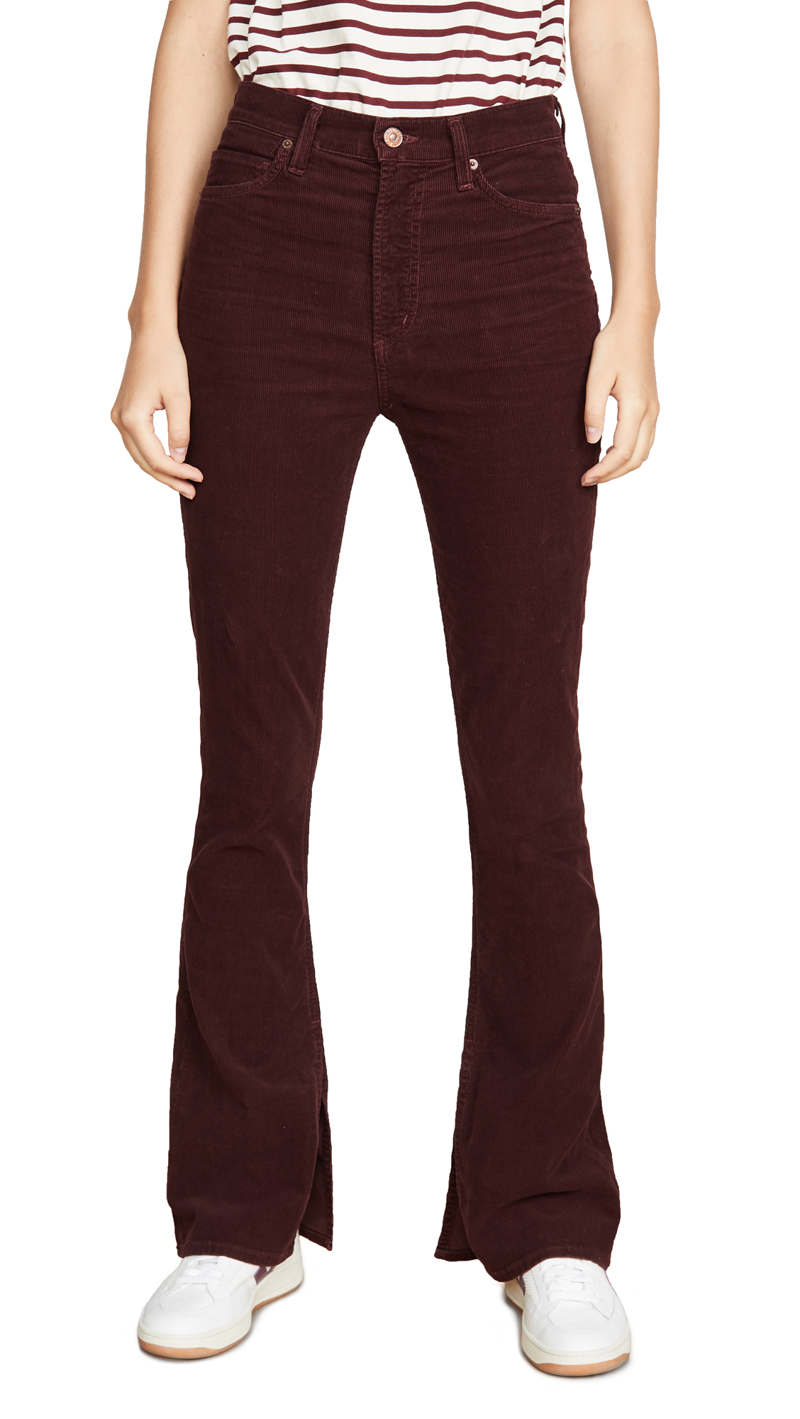Buy Citizens of Humanity online - photo of Citizens of Humanity Georgia High Rise Corduroy Jeans