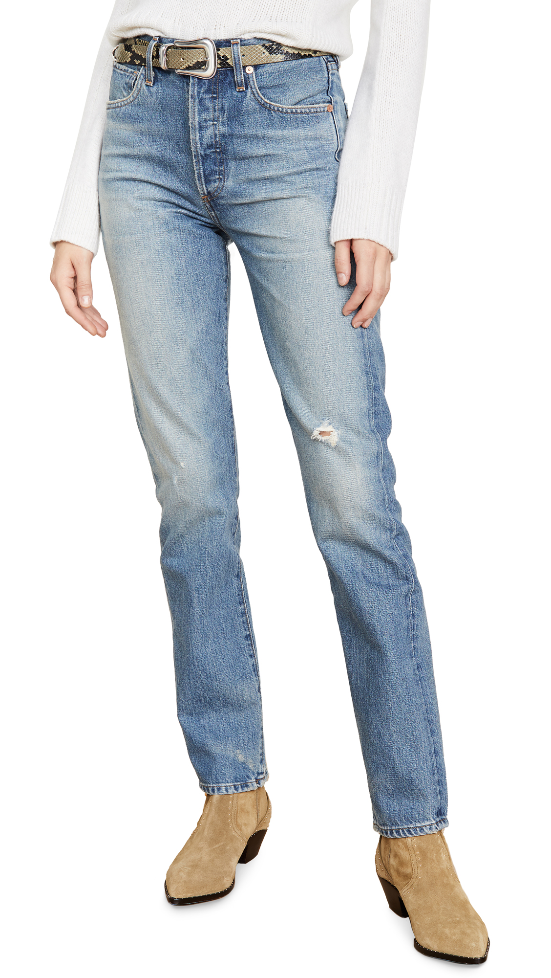 Buy Citizens of Humanity online - photo of Citizens of Humanity Premium Vintage Campbell Relaxed High Rise Jeans