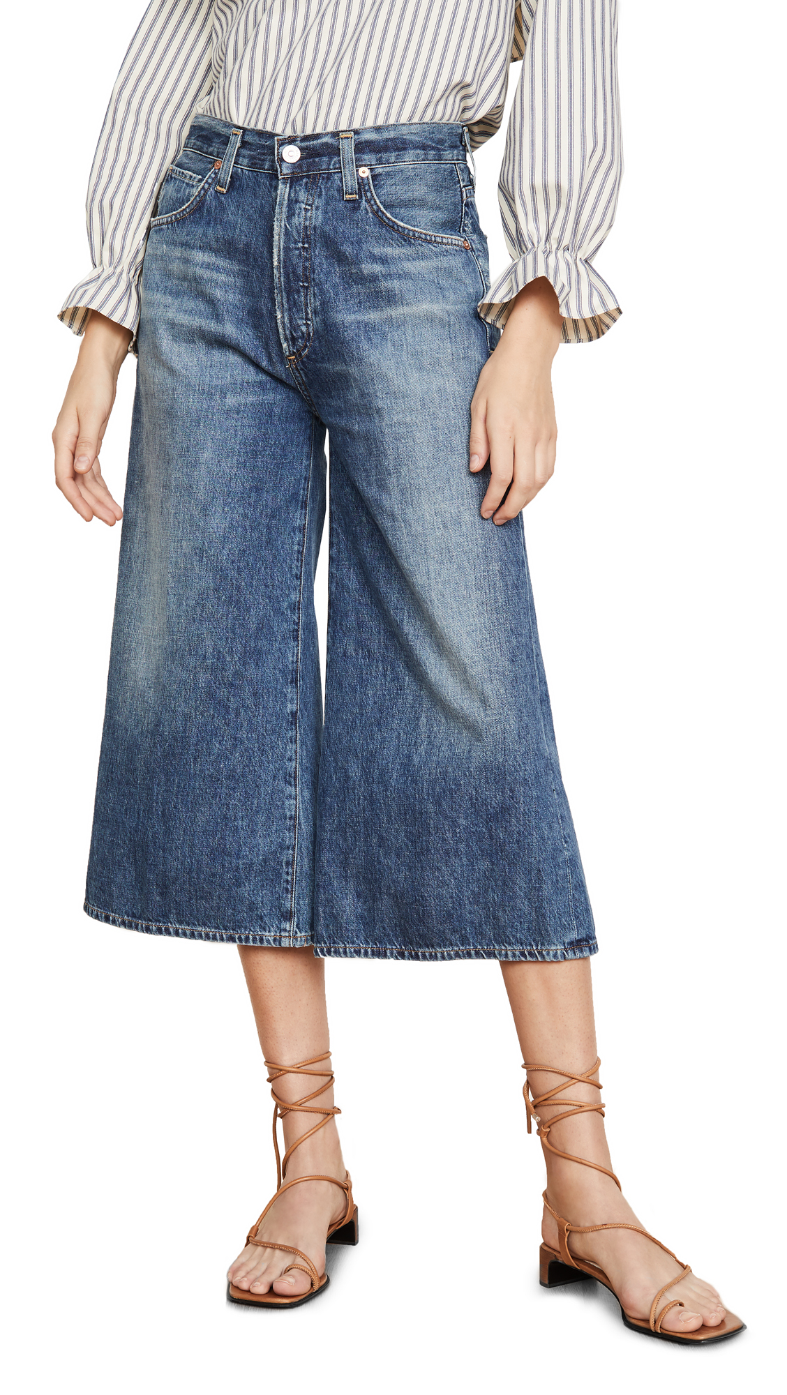 Buy Citizens of Humanity online - photo of Citizens of Humanity Premium Vintage Emily Culottes