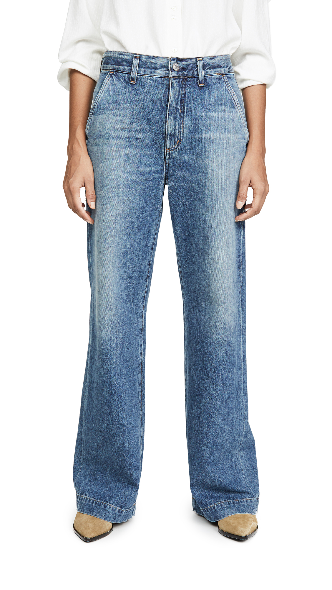 Buy Citizens of Humanity online - photo of Citizens of Humanity Premium Vintage Ivy Long Trouser Jeans