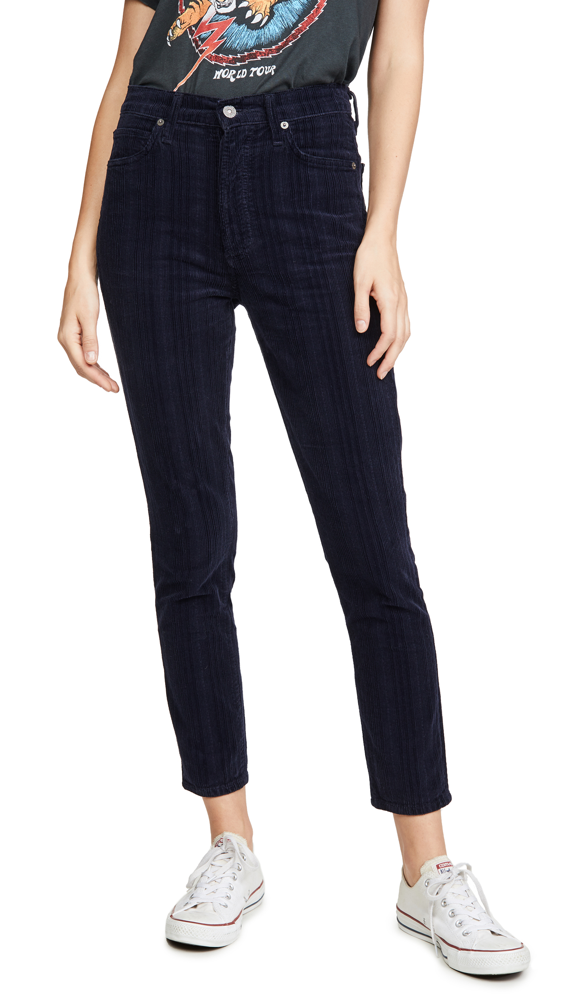 Buy Citizens of Humanity online - photo of Citizens of Humanity Olivia High Rise Corduroy Pants