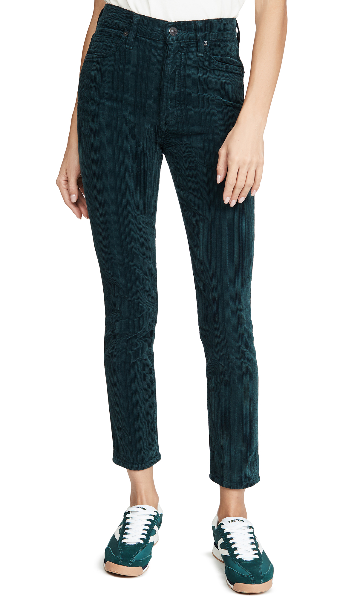 Buy Citizens of Humanity online - photo of Citizens of Humanity Olivia High Rise Corduroy Slim