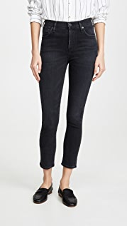 Citizens of Humanity Rocket Crop Mid Rise Skinny Jeans
