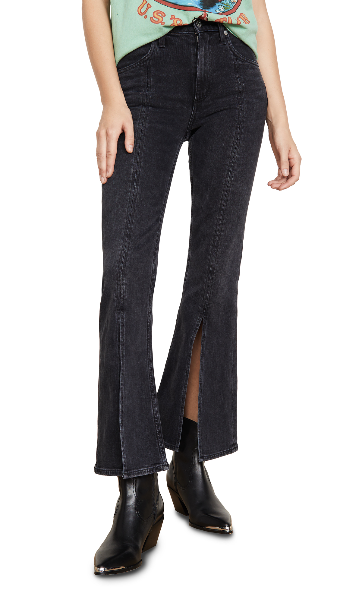 Buy Citizens of Humanity online - photo of Citizens of Humanity Premium Vintage Hailey Flare Jeans