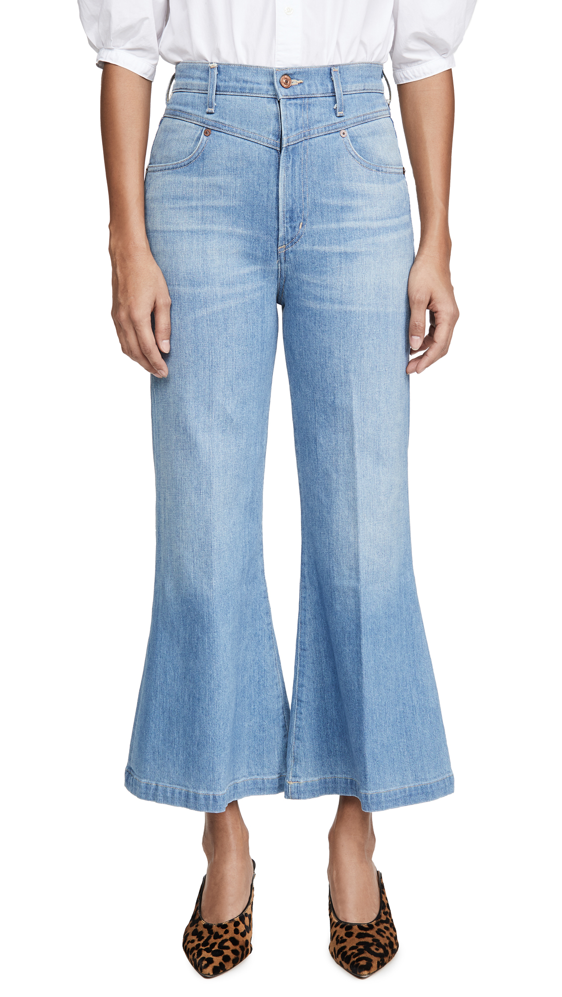 Buy Citizens of Humanity online - photo of Citizens of Humanity Cassie Yoke Jeans
