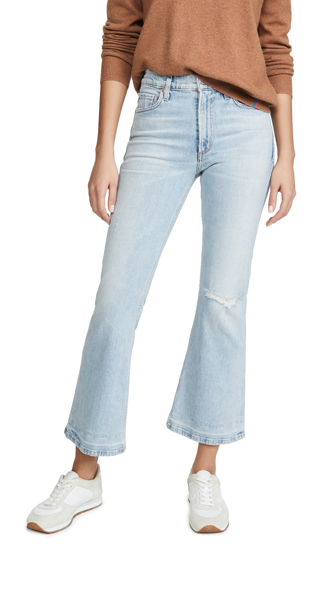 Buy Citizens of Humanity online - photo of Citizens of Humanity Tailyn Mid Rise Flare Jeans