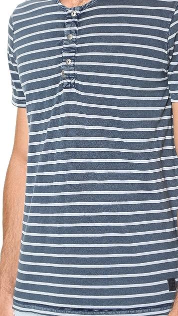 Calvin Klein Jeans Short Sleeve Henley
