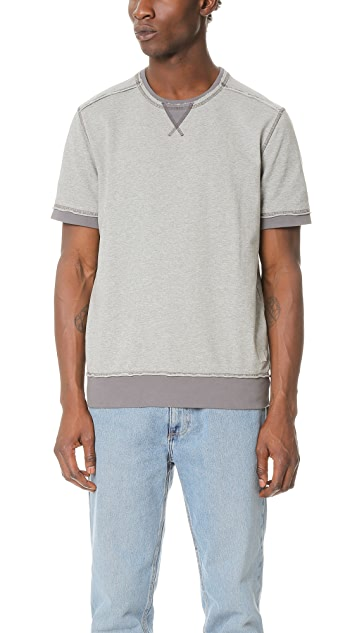 Calvin Klein Jeans Short Sleeve Sweatshirt