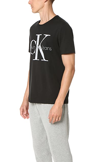 Calvin Klein Jeans Scribble Logo Tee