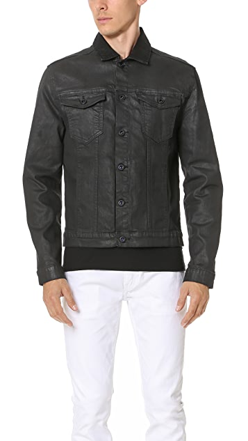 Calvin Klein Jeans Coated Denim Jacket