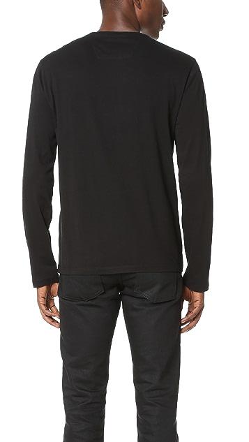 Calvin Klein Jeans Reissue Logo Long Sleeve Tee