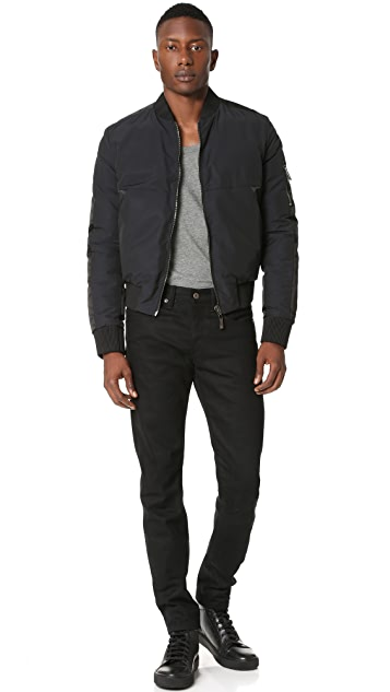 Calvin Klein Collection Madrid Reversible Bomber