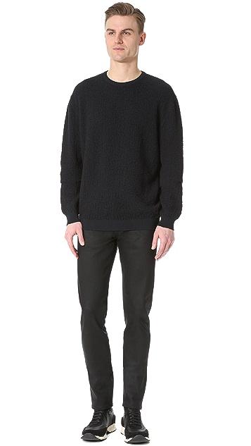 Calvin Klein Collection Regis Bomber Sweater