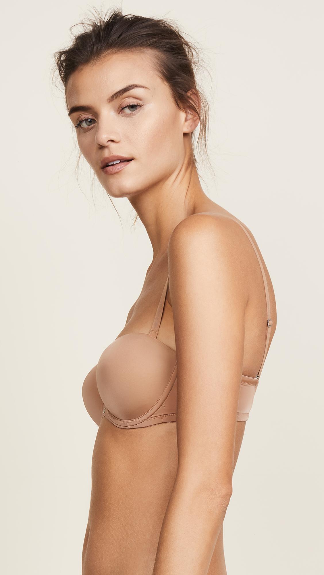 dfaf561e6c2b4 Calvin Klein Underwear Naked Glamour Strapless Push Up Bra